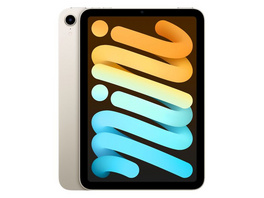 Apple iPad mini (2021), mit WiFi, 64 GB, polarstern