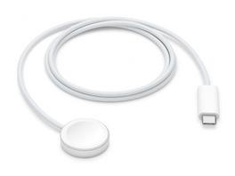 Apple Watch Magnetisches Schnellladekabel auf USB-C, 1 m, weiß