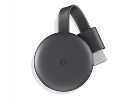 Google Chromecast (3. Gen.), Streaming-Mediaplayer, WLAN, HDMI
